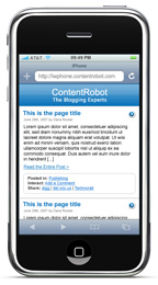Iphone ready version of this blog.